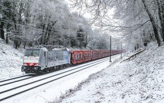 RAILPOOL Lokomotive 186 103 met Safenwil 47060